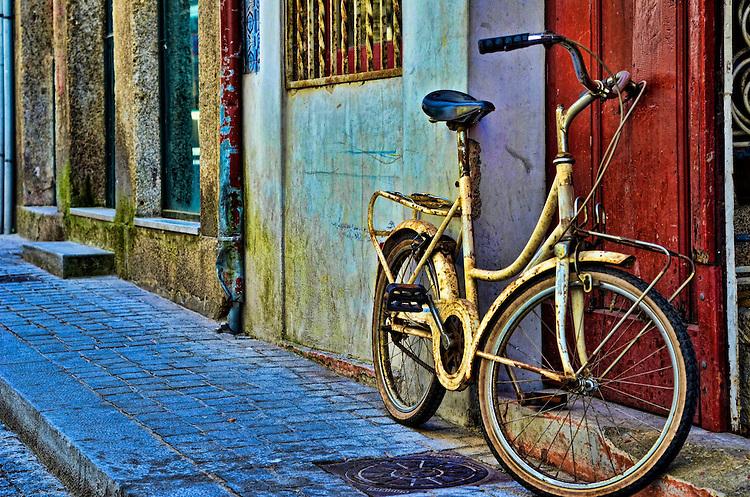 porto, portugal, bike