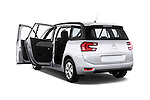 Rear three quarter door view of a 2013 Citroen GRAND C4 PICASSO Intensive 5 Door Minivan 2WD