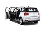 Rear three quarter door view of a 2013 Citroen GRAND C4 PICASSO Intensive 5 Door Minivan 2WD