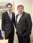 Taoiseach Brian Cowen visits Drogheda to open the Office of Senator James Carroll...Photo NEWSFILE/Jenny Matthews.(Photo credit should read Jenny Matthews/NEWSFILE)....This Picture has been sent you under the condtions enclosed by:.Newsfile Ltd..The Studio,.Millmount Abbey,.Drogheda,.Co Meath..Ireland..Tel: +353(0)41-9871240.Fax: +353(0)41-9871260.GSM: +353(0)86-2500958.email: pictures@newsfile.ie.www.newsfile.ie.FTP: 193.120.102.198.