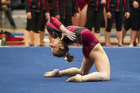 Stanford Women's Gymnastics vs. Cal, March 3, 2014