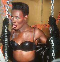 Grace Jones, 1991, Photo By John Barrett/PHOTOlink