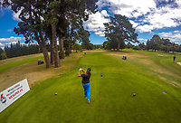 Doug Holloway. Day one of the Jennian Homes Charles Tour / Brian Green Property Group New Zealand Super 6's at Manawatu Golf Club in Palmerston North, New Zealand on Thursday, 5 March 2020. Photo: Dave Lintott / lintottphoto.co.nz