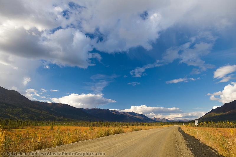 James Dalton Highway, near Coldfoot, Arctic, Alaska.