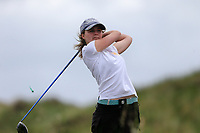 Leanne O'Shea (Shannon) during the 2nd round of the Irish Women's Open Stroke Play Championship, Enniscrone Golf Club, Enniscrone, Co. Sligo. Ireland. 16/06/2018.<br /> Picture: Golffile | Fran Caffrey<br /> <br /> <br /> All photo usage must carry mandatory  copyright credit (© Golffile | Fran Caffrey)