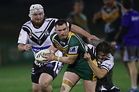 The Wyong Roos play Ourimbah Magpies in Round 15 of the First Grade Central Coast Rugby League Division at Morry Breen Oval on 27th of July, 2019 in Kanwal, NSW Australia. (Photo by Paul Barkley/LookPro)
