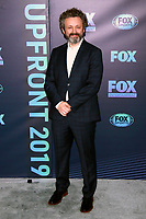 NEW YORK, NY - MAY 13: Michael Sheen at the FOX 2019 Upfront at Wollman Rink in Central Park, New York City on May 13, 2019. <br /> CAP/MPI99<br /> &copy;MPI99/Capital Pictures
