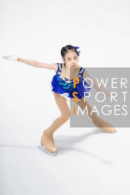 Jun Han Huang competes during the Asian Junior Figure Skating Challenge 2015 on October 07, 2015 in Hong Kong, China. Photo by Aitor Alcalde/ Power Sport Images