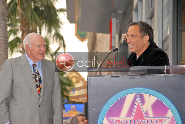 Judge Joseph A. Wapner and Harvey Levin<br /> at the induction ceremony of Judge Joseph A.Wapner into the Hollywood Walk of Fame, Hollywood, CA. 11-12-09<br /> David Edwards/Dailyceleb.com 818-249-4998