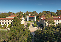 Occidental College's Arthur G. Coons Administrative Center (AGC).<br /> (Photo by Marc Campos, Occidental College Photographer)