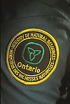 Shoulder patch of Ontario government biologist