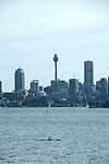 Sydney.Vu  de  Sydney depuis un ferry dans la baie