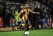 3rd October 2017, The Abbey Stadium, Cambridge, England; Football League Trophy Group stage, Cambridge United versus Southampton U21; Leon Davies of Cambridge United cuts the ball inside