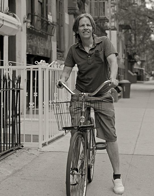Eileen Myles, 2008.  Poet