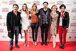 "The left to the right, Eduard Fernandez, Patricia Montero, the director of the film, Ines Paris Bouza, Fele Martinez, Maria Pujalte and the producer during the presentation of the spanish film ""La noche que mi Madre mato a mi Padre"" at Palacio de la Prensa in Madrid. April 27,2016. (ALTERPHOTOS/Borja B.Hojas)"
