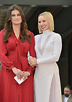 Irina Menzel, Kristen Bell -Star WofF 034 ,  Kristen Bell And Idina Menzel  Honored With Stars On The Hollywood Walk Of Fame on November 19, 2019 in Hollywood, California