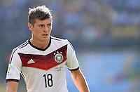 FUSSBALL WM 2014                VIERTELFINALE Frankreich - Deutschland           04.07.2014 Toni Kroos (Deutschland)