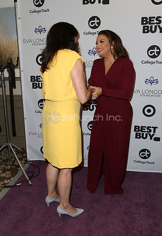 LOS ANGELES, CA - NOVEMBER 8: Eva Longoria, Sponsor, at the Eva Longoria Foundation Dinner Gala honoring Zoe Saldana and Gina Rodriguez at The Four Seasons Beverly Hills in Los Angeles, California on November 8, 2018. Credit: Faye Sadou/MediaPunch