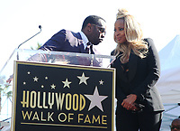 HOLLYWOOD, CA - JANUARY 11: Sean 'Diddy' Combs speaks as Mary J. Blige receives a star on Hollywood Walk Of Fame in Hollywood, California on January 11, 2018. <br /> CAP/MPIFS<br /> &copy;MPIFS/Capital Pictures