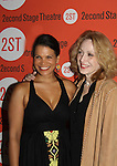 "One Life To Live's January LaVoy ""Noelle Ortiz"" and Jan Maxwell (OLTL ""Cindy"" and AMC ""Judge Hyatt"") star in Wings, the Off-Broadway play on Opening night of Second Stage Theatre's production of Wings on October 24, 2010 in New York City, NY with the after party at HB Burger. (Photo by Sue Coflin/Max Photos)"