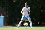 02 September 2013: North Carolina's Alex Olofson. The University of North Carolina Tar Heels hosted the Coastal Carolina University Chanticleers at Fetzer Field in Chapel Hill, NC in a 2013 NCAA Division I Men's Soccer match. UNC won the game 4-0.