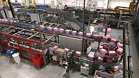 Visit to Evian's newly opened state of the art production facility after Wednesday's Pro-Am Day of The Evian Championship 2017, the final Major of the ladies season, held at Evian Resort Golf Club, Evian-les-Bains, France. 13th September 2017.<br /> Picture: Eoin Clarke | Golffile<br /> <br /> <br /> All photos usage must carry mandatory copyright credit (&copy; Golffile | Eoin Clarke)