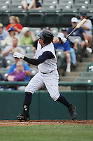 Trenton Thunder outfielder Ben Gamel (8) during game against the Erie Sea Wolves at ARM & HAMMER Park on May 15, 2014 in Trenton, NJ.  Erie defeated Trenton 4-2.  (Tomasso DeRosa/Four Seam Images)