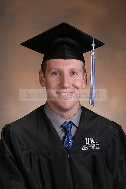 Portrait of Hundley, Mark at the University of Kentucky in Lexington, Ky., on Friday Dec. 7, 2012.