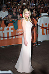 Kirsten Dunst attending the The 2012 Toronto International Film Festival.Red Carpet Arrivals for 'On The Road' at the Ryerson Theatre in Toronto on 9/6/2012