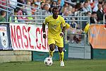 02 May 2015: Tampa Bay's Darnell King. The Carolina RailHawks hosted the Tampa Bay Rowdies at WakeMed Stadium in Cary, North Carolina in a North American Soccer League 2015 Spring Season match. The game ended in a 1-1 tie.