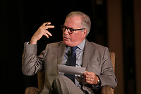 Jean-Philippe Decarie, Business columnist, La Presse <br /> take part in a debate about Quebec's economy, at the Canadian Club of Montreal, June 1st 2015.<br /> <br /> Photo : Pierre Roussel - Agence Quebec Presse