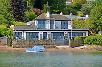 Waterfront property which backs directly on to one of Britain's most beautiful estuaries