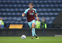 Burnley's James Tarkowski<br /> <br /> Photographer Mick Walker/CameraSport<br /> <br /> Football Pre-Season Friendly - Preston North End  v Burnley FC  - Monday 23st July 2018 - Deepdale  - Preston<br /> <br /> World Copyright &copy; 2018 CameraSport. All rights reserved. 43 Linden Ave. Countesthorpe. Leicester. England. LE8 5PG - Tel: +44 (0) 116 277 4147 - admin@camerasport.com - www.camerasport.com