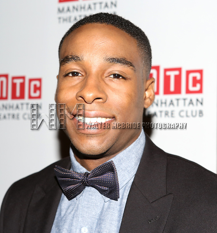 Grantham Coleman attending the Opening Night Celebration for the MTC American Premiere of 'Choir Boy' at Inside Park at St. Bart's on July 2, 2013 in New York City.