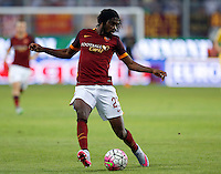 Calcio, Serie A: Frosinone vs Roma. Frosinone, stadio Comunale, 12 settembre 2015.<br /> Roma&rsquo;s Gervinho in action during the Italian Serie A football match between Frosinone and Roma at Frosinone Comunale stadium, 12 September 2015.<br /> UPDATE IMAGES PRESS/Riccardo De Luca