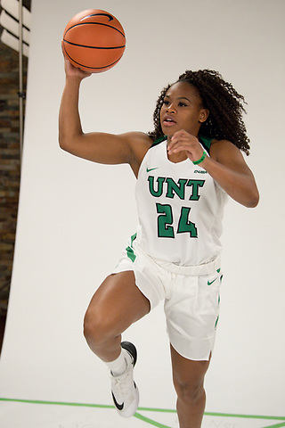 University of North Texas Mean Green Basketball Teams on October 24th, 2017 at the Super Pit in Denton, Texas. (Rick Yeatts Photos: Manny Flores)