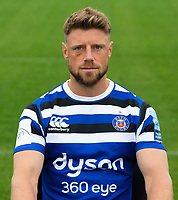 Rhys Priestland of Bath Rugby poses for a portrait. Bath Rugby Media Day on August 14, 2018 at Farleigh House in Bath, England. Photo by: Patrick Khachfe / Onside Images