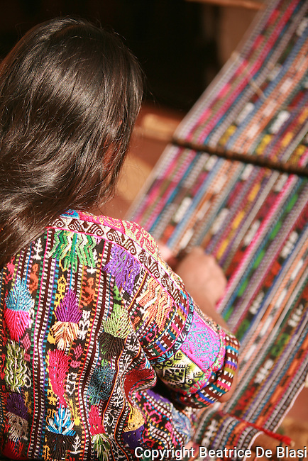 Fair Trade workers in Guatemala. Textiles waivers, their families, and their products.