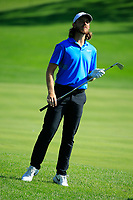 Tommy Fleetwood (ENG) in action during the third round of the Northern Trust, played at Liberty National Golf Club, Jersey City, New Jersey, USA 10/08/2019<br /> Picture: Golffile | Michael Cohen<br /> <br /> All photo usage must carry mandatory copyright credit (© Golffile | Phil Inglis)