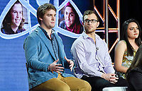 PASADENA, CA - FEBRUARY 10:  Ryan Folz and Abraham Riedel-Mishaan attends the Science Fair panel at the 2019 National Geographic portion of the Television Critics Association Winter Press Tour at The Langham Huntington Hotel on February 10, 2019 in Pasadena, California. (Photo by Vince Bucci/National Geographic/PictureGroup)