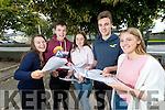 Rion Ach De Bhillis, Adam Ó Caomhánaigh, Máire Ní Dhúgáin, Luka Ó Brosnacháin and Aoife Ní Chonaill, students from Gaelcholáiste Chiarrai, who received their Junior Certificate results on Wednesday morning last.