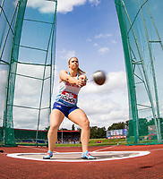 Sophie HITCHON of GBR in the mixed Hammer Throw competition during the Muller Grand Prix Birmingham Athletics at Alexandra Stadium, Birmingham, England on 20 August 2017. Photo by Andy Rowland.