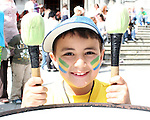 Emran Mustafa at the Samba Festival on West Street...Photo NEWSFILE/Jenny Matthews.(Photo credit should read Jenny Matthews/NEWSFILE)....This Picture has been sent you under the condtions enclosed by:.Newsfile Ltd..The Studio,.Millmount Abbey,.Drogheda,.Co Meath..Ireland..Tel: +353(0)41-9871240.Fax: +353(0)41-9871260.GSM: +353(0)86-2500958.email: pictures@newsfile.ie.www.newsfile.ie.FTP: 193.120.102.198.
