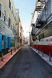 USA, California, San Francisco, a street alley in North Beach
