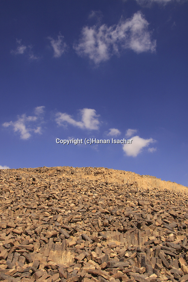Israel, Negev, Haminsara (the Carpentry) Hill in Ramon Crater