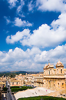 Noto Cathedral (St Nicholas Cathedral, Cattedrale di Noto), Sicily, Italy, Europe. This is a photo of Noto Cathedral (St Nicholas Cathedral, Cattedrale di Noto), Sicily, Italy, Europe.