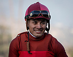 ARCADIA, CA: #3 River Boyne and Abel Cedillo win the Grade III Thunder Road Stakes at Santa Anita Park in Arcadia, California on February 08, 2020.
