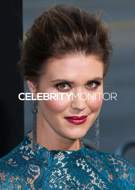 BEVERLY HILLS, CA, USA - OCTOBER 01: Sarah Lancaster arrives at the Los Angeles Premiere Of Warner Bros. Pictures And Village Roadshow Pictures' 'The Judge' held at the Samuel Goldwyn Theatre at The Academy of Motion Picture Arts and Sciences on October 1, 2014 in Beverly Hills, California, United States. (Photo by Xavier Collin/Celebrity Monitor)