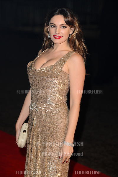 "Kelly Brook arriving for the ""Skyfall"" world premiere after party at the Tate Modern, London. 23/10/2012 Picture by: Steve Vas / Featureflash"