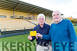 Malachy Walsh and Pa O'Brien from Dr Crokes whose lotto prize has gone over ten thousand euro
